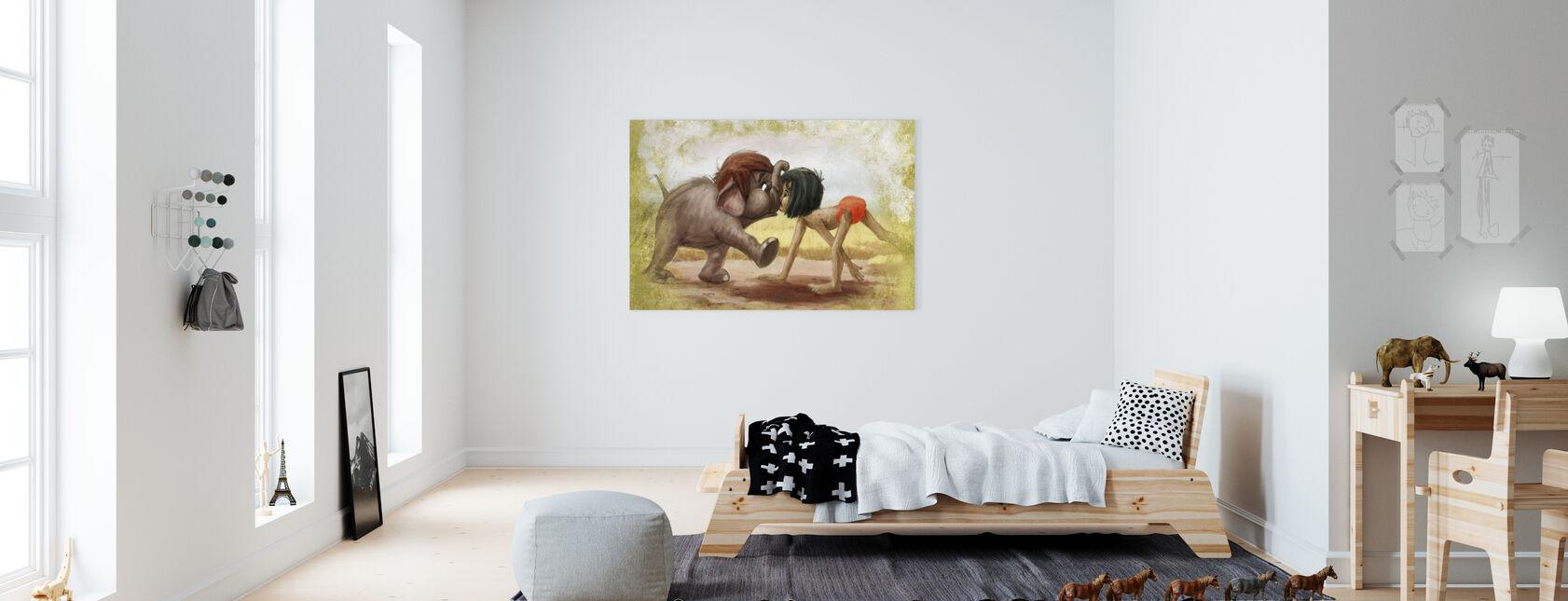 Disney Classics - Djungelbok - Canvastavla - Barnrum