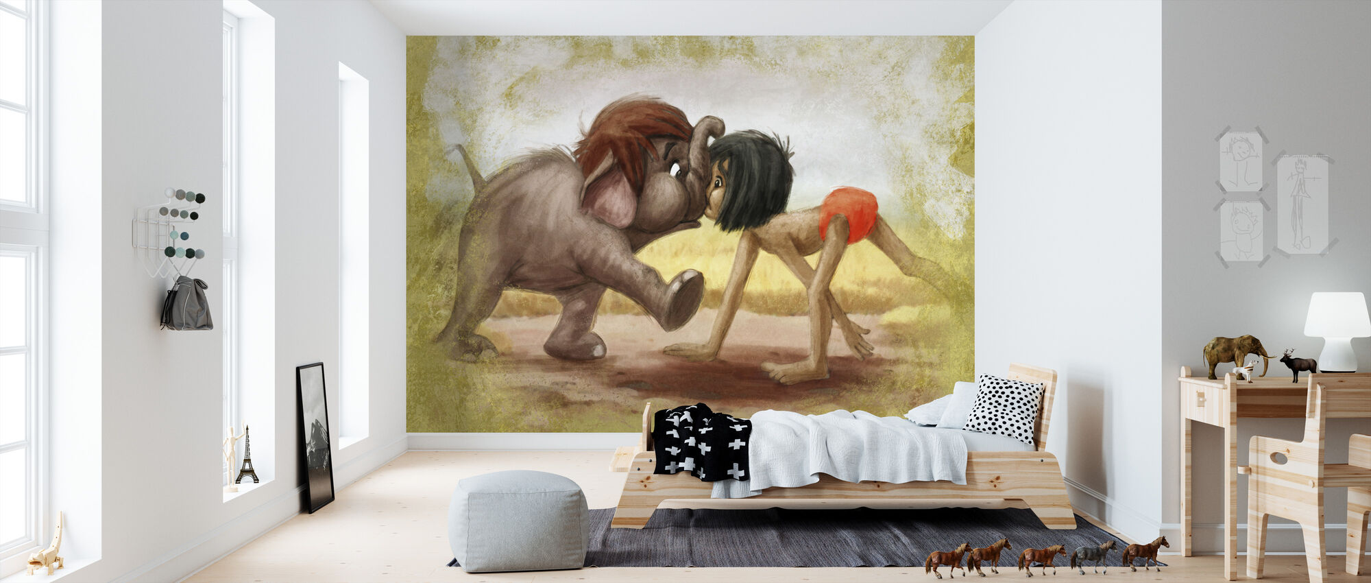 Disney Classics - Jungle Book - Tapet - Barnerom