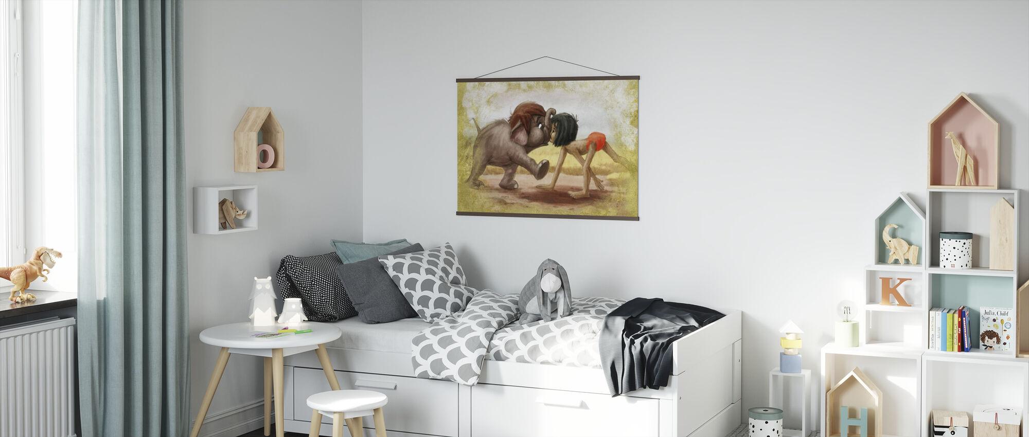 Disney klassikere - Jungle Bog - Plakat - Børneværelse