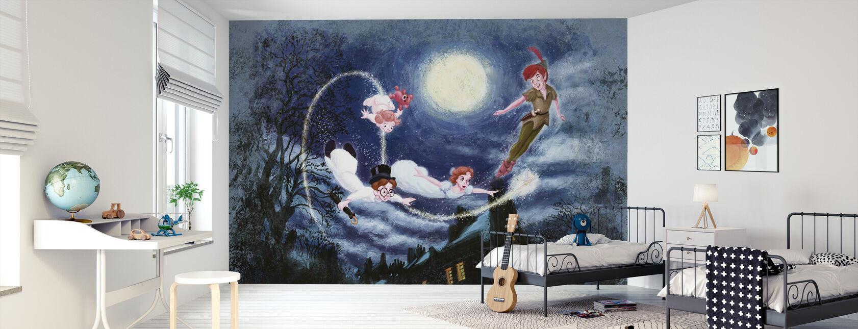 Disney Classics - Peter Pan - Tapetti - Lastenhuone