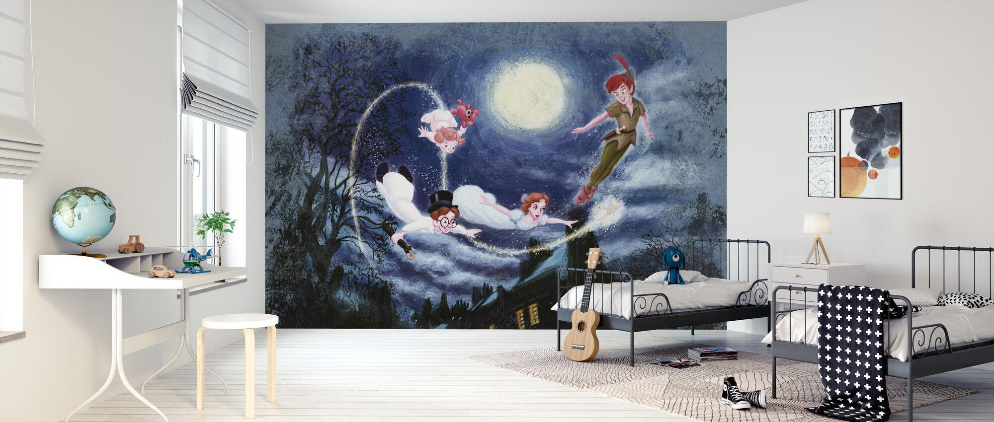 Disney klassikere - Peter Pan - Tapet - Børneværelse