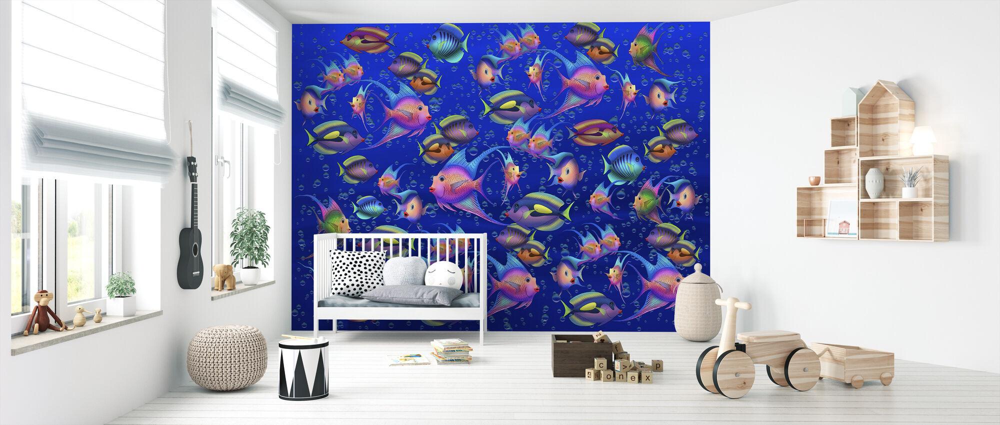 Fantasy Kala II - Tapetti - Vauvan huone