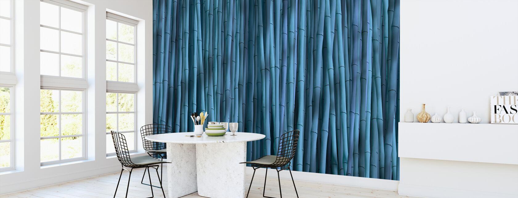 Bambu Blå - Tapet - Kök