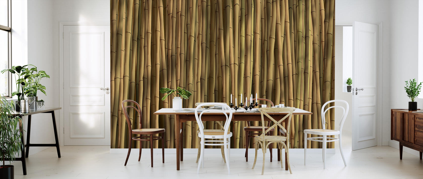 bamboo natural fototapete nach ma photowall. Black Bedroom Furniture Sets. Home Design Ideas