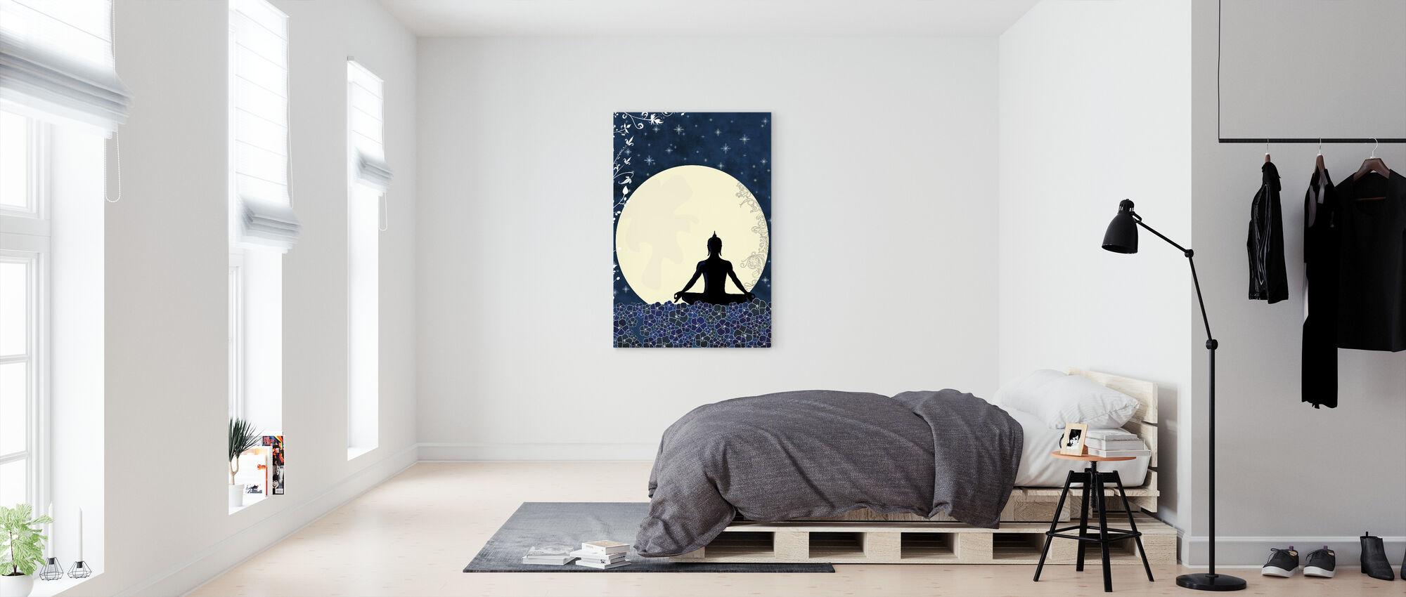 Nirvana - Billede på lærred - Soveværelse