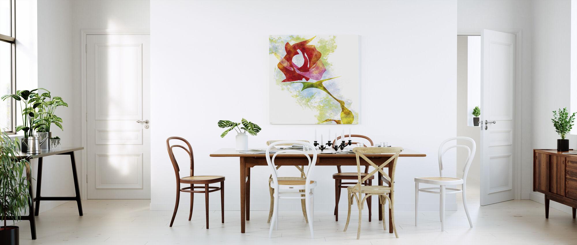 En Rose For Deg - Lerretsbilde - Kjøkken