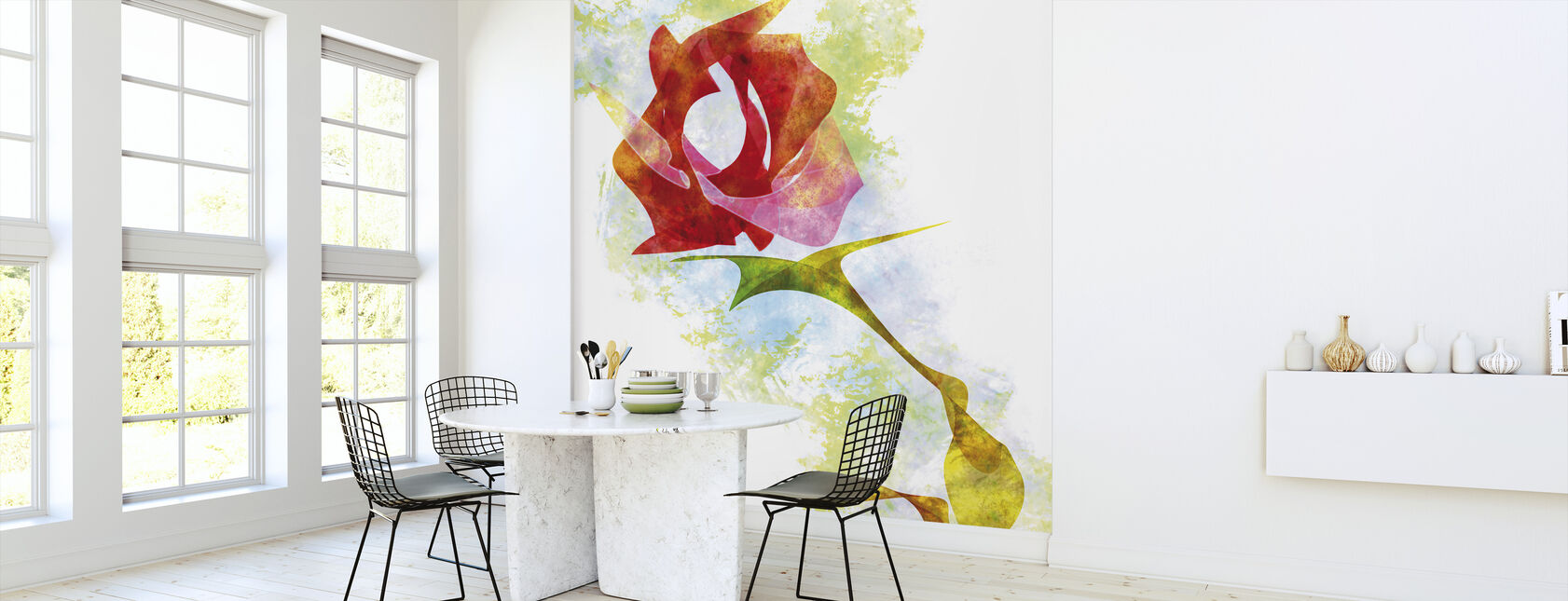 A Rose For You - Wallpaper - Kitchen