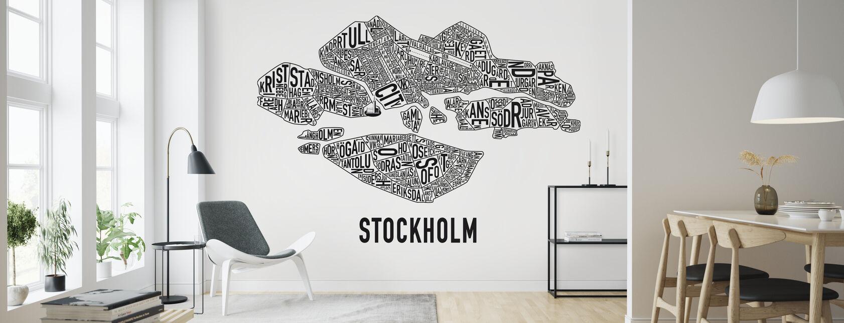 Stockholm - Tapet - Vardagsrum