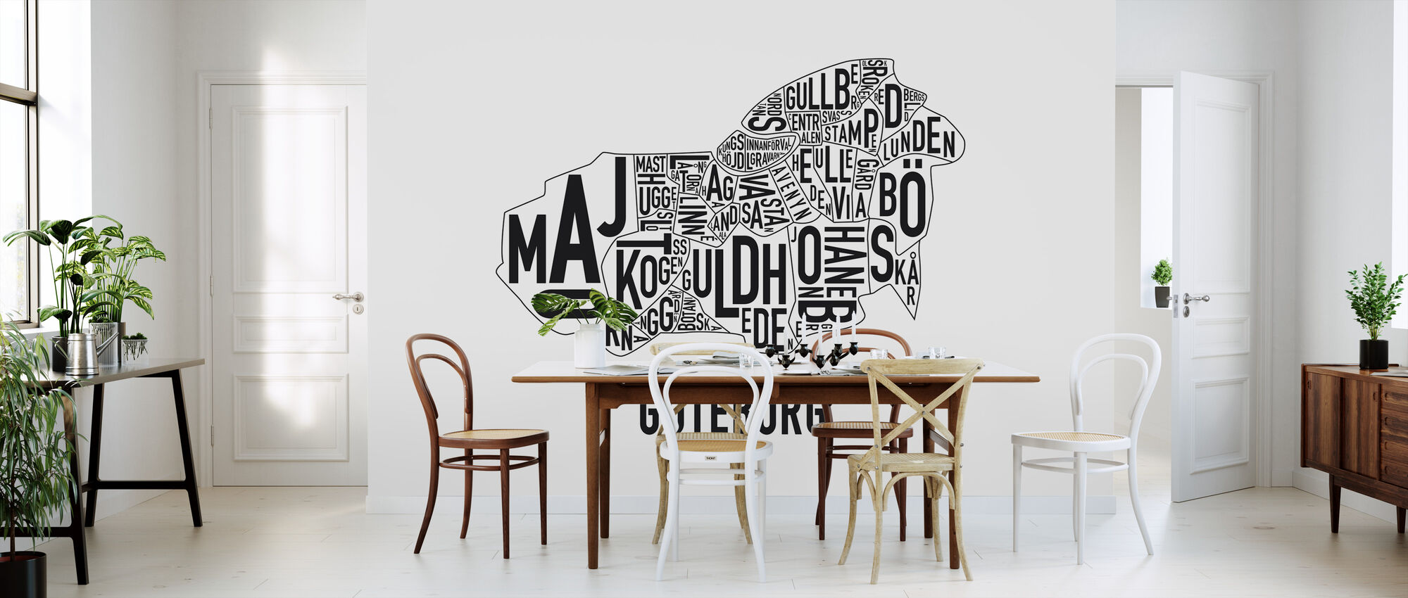 Gothenburg - Wallpaper - Kitchen