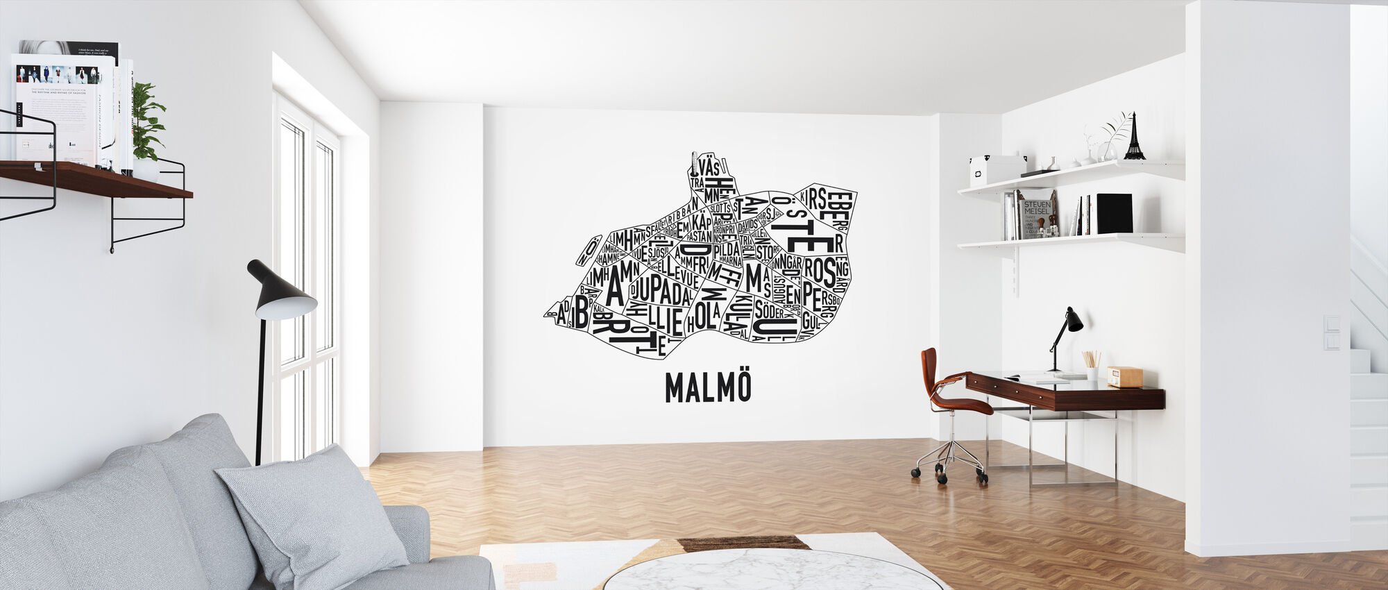 Malmö - Wallpaper - Office