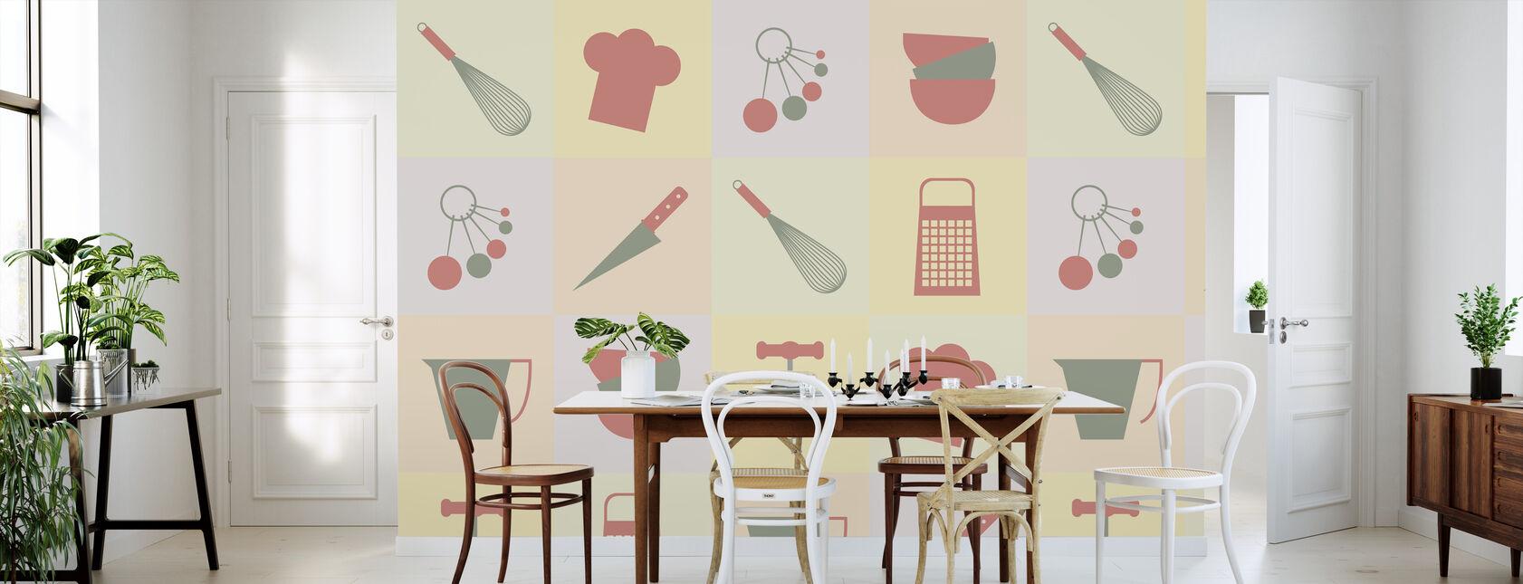 Dalston Kjøkken - Tapet - Kjøkken