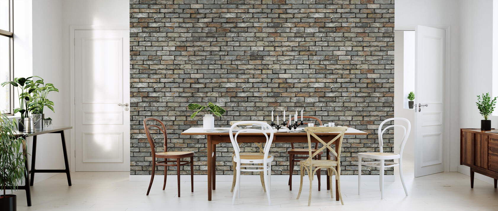 stone wall fototapete nach ma photowall. Black Bedroom Furniture Sets. Home Design Ideas