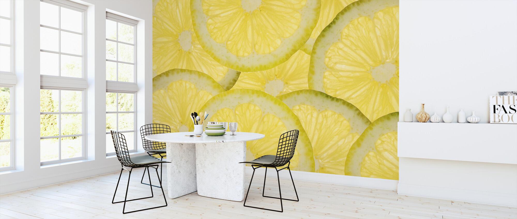 Sliced Lemons - Wallpaper - Kitchen