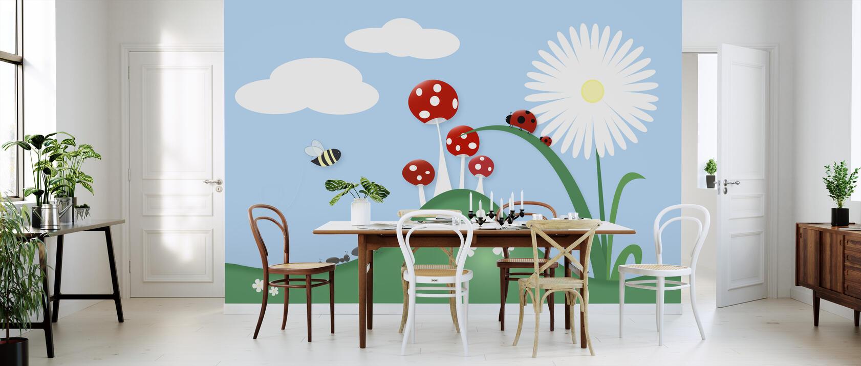 a bugs world kostenlos gelieferte fototapete von h chster qualit t photowall. Black Bedroom Furniture Sets. Home Design Ideas