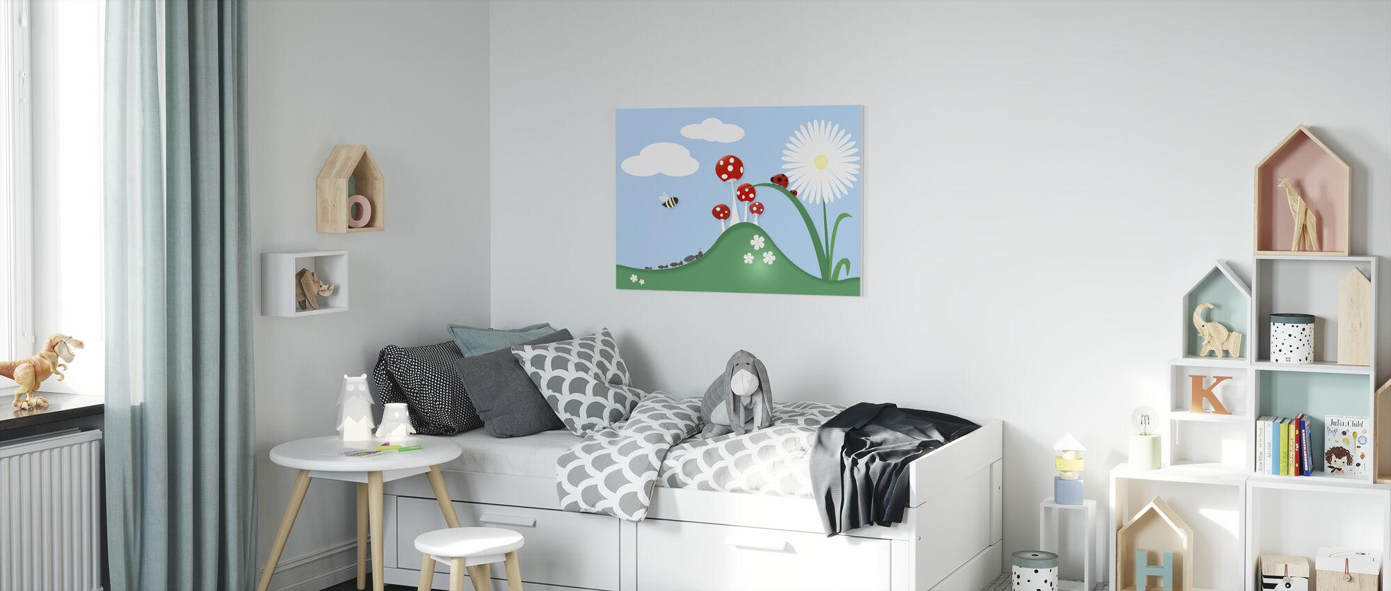 A Bugs World - Canvas print - Kids Room