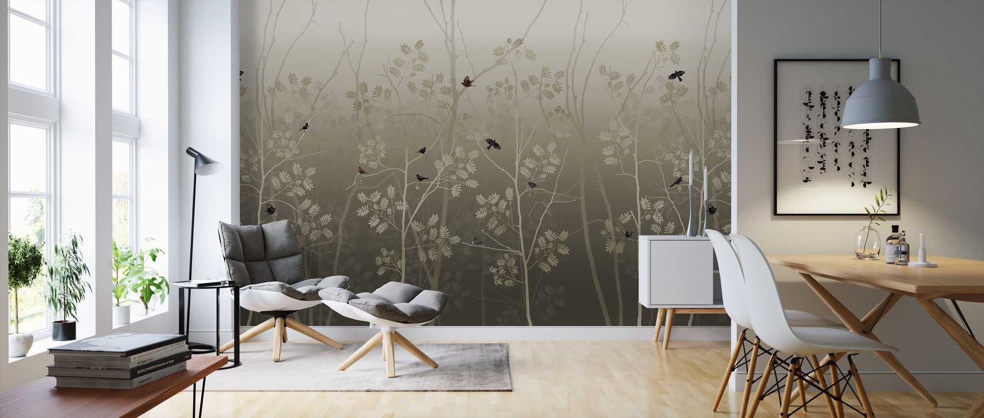 Last Emperor - Bronze - Wallpaper - Living Room