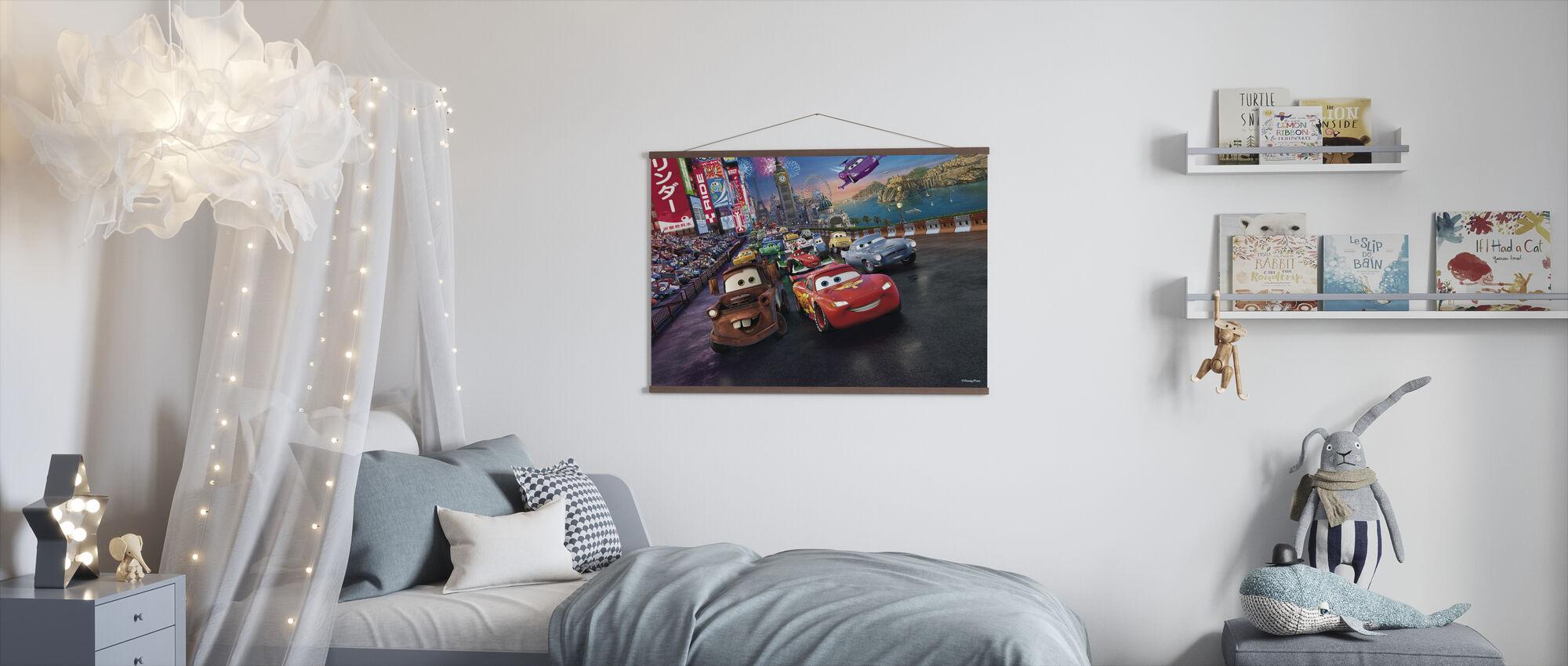 Biler biler biler - Plakat - Barnerom