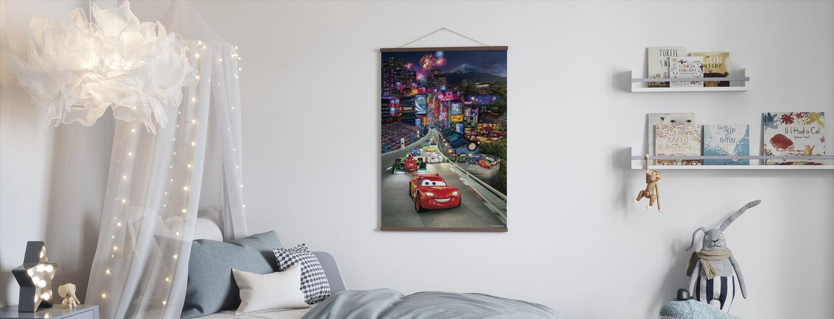 Bilar - Japan - Poster - Barnrum