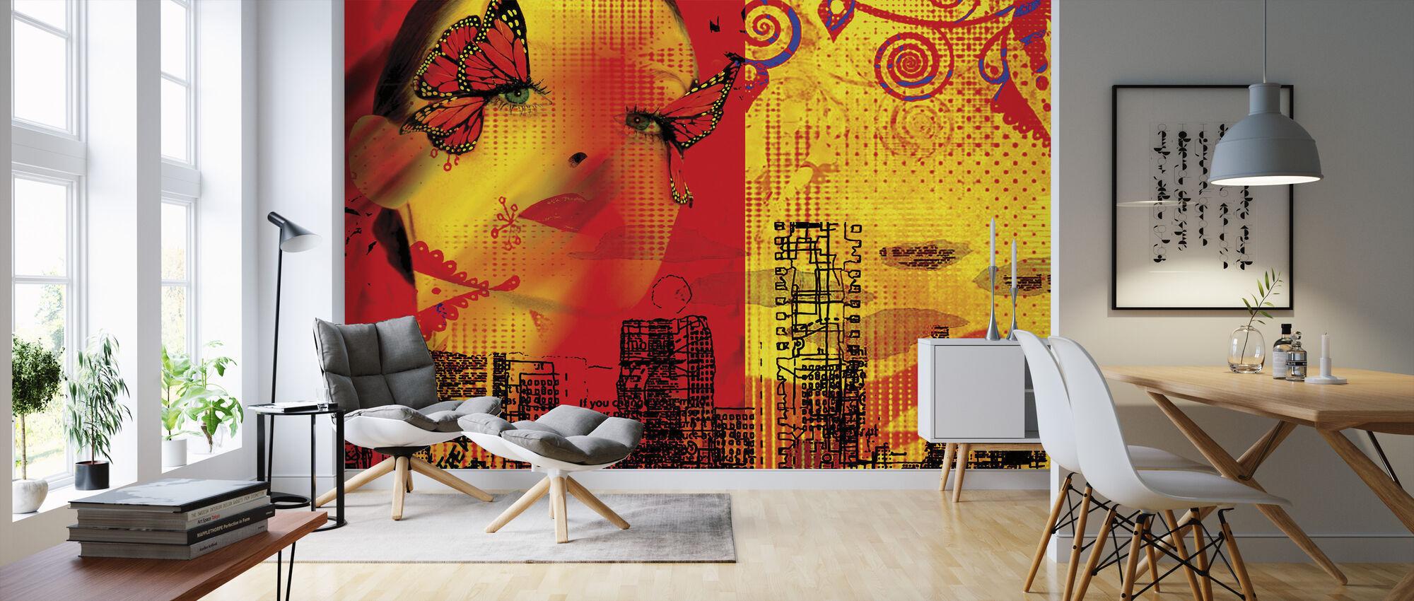 Butterfly - Wallpaper - Living Room