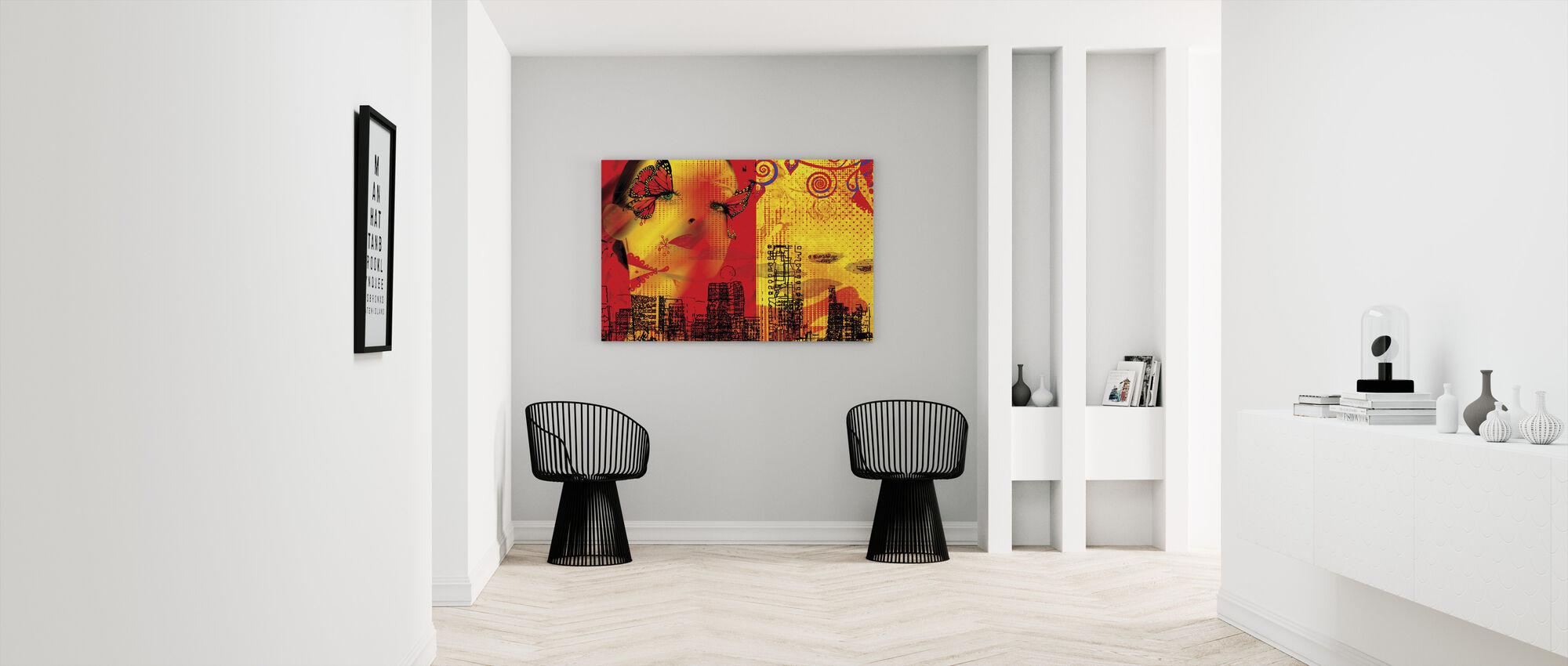 Butterfly - Canvas print - Hallway