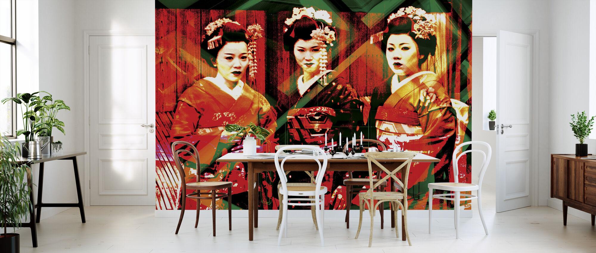Geisha time - Wallpaper - Kitchen