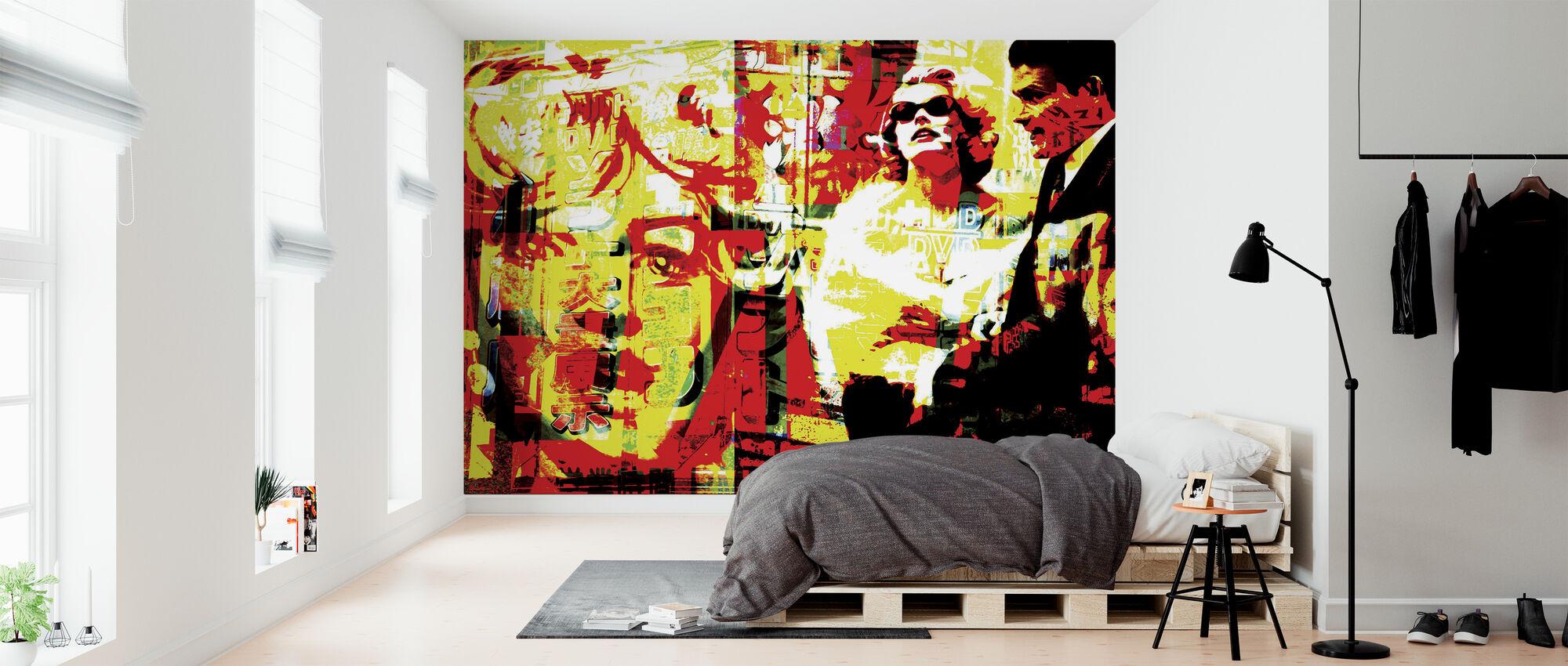 Marilyn-kuvake - Tapetti - Makuuhuone