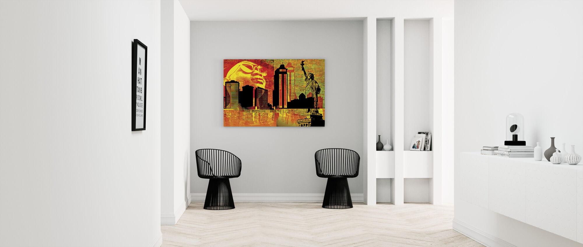 Suuri kaupunki - Canvastaulu - Aula