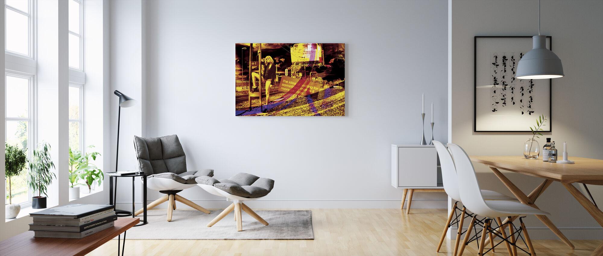 Just Waiting - Canvas print - Living Room
