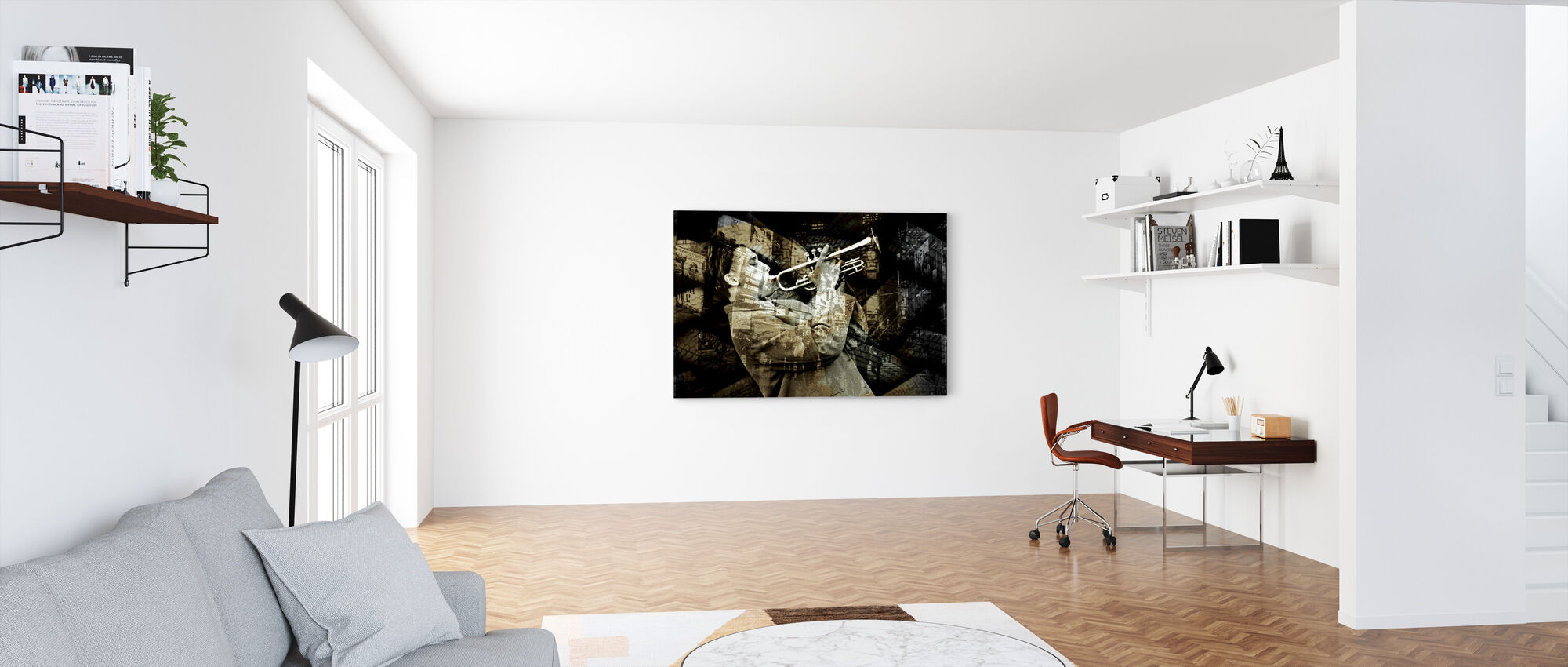 All The Jazz - Canvas print - Office