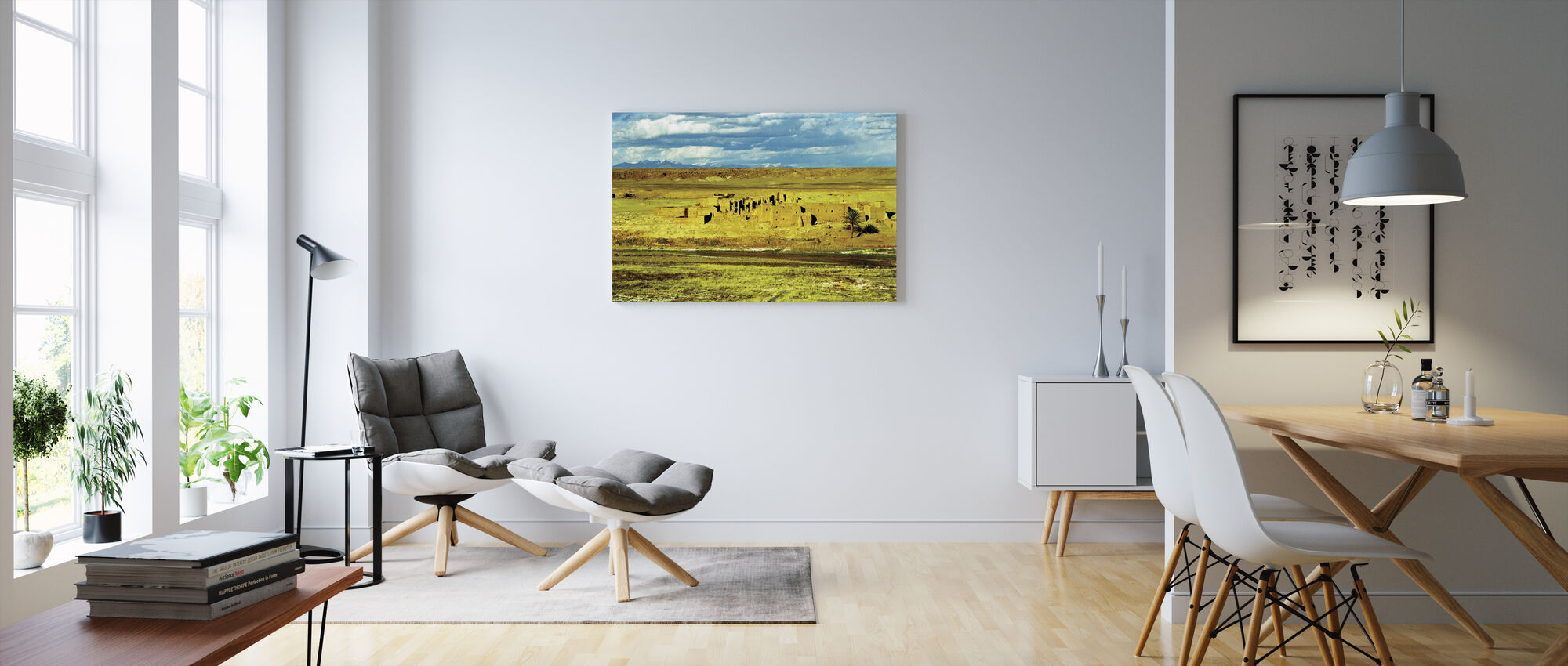 Empty City - Canvas print - Living Room