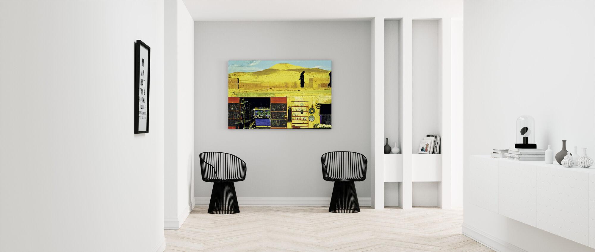 Sahara - Canvas print - Hallway