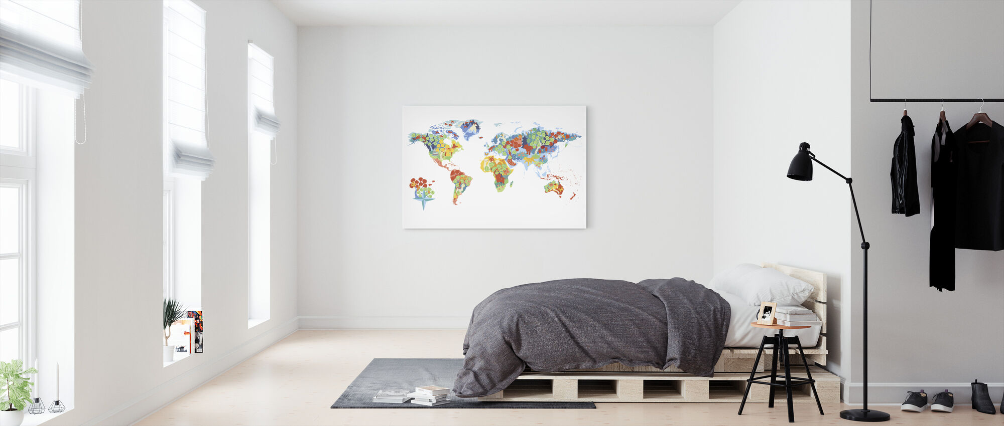 Wonderful World - Canvas print - Bedroom