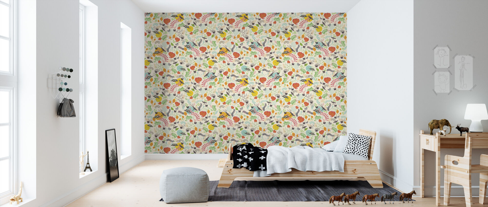 Forest Spice - Wallpaper - Kids Room