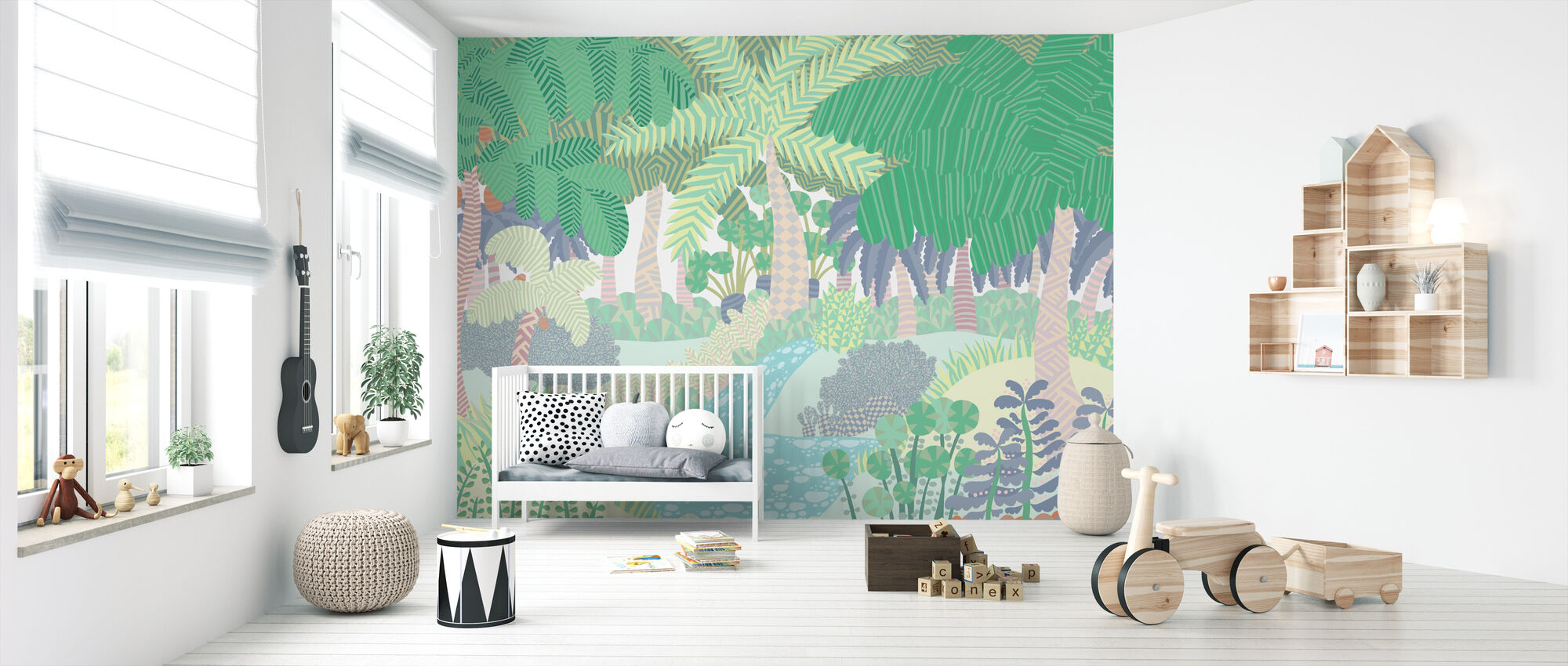 Jungle - Wallpaper - Nursery