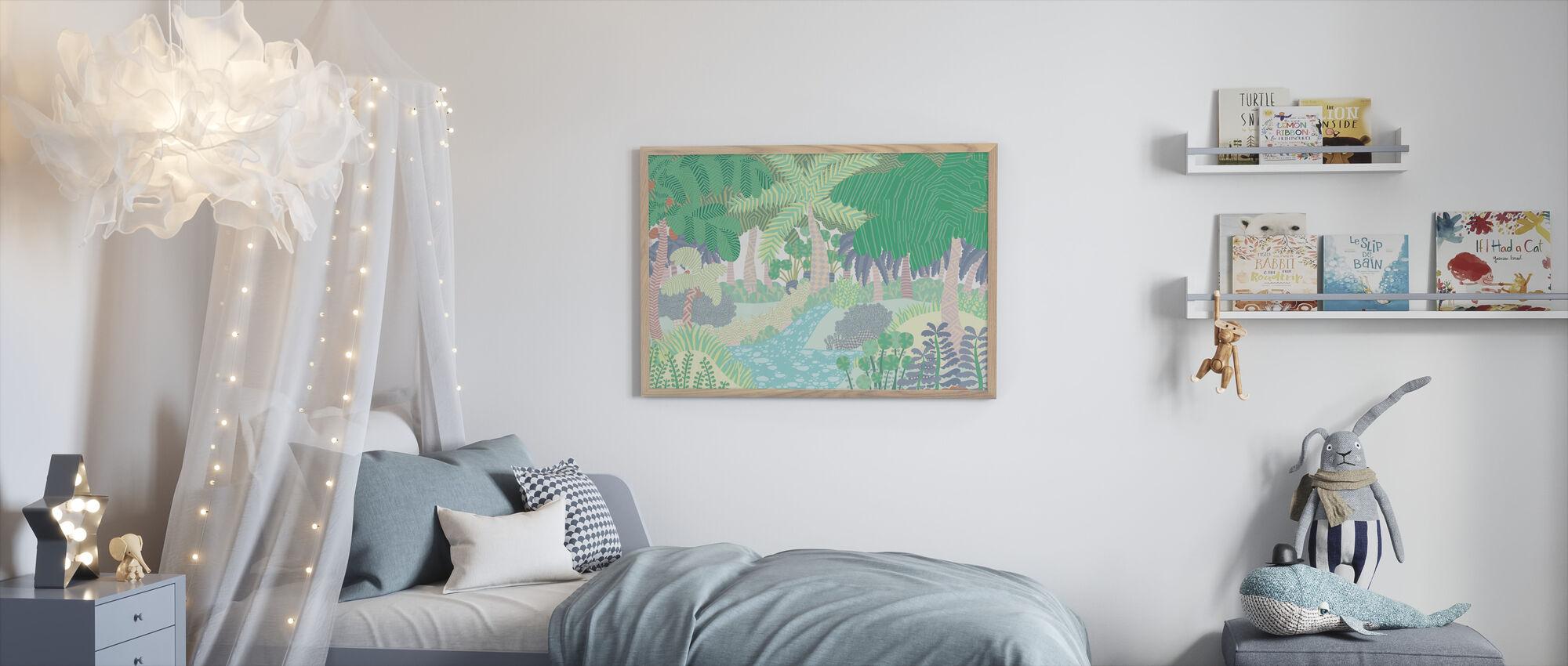 Jungle - Framed print - Kids Room