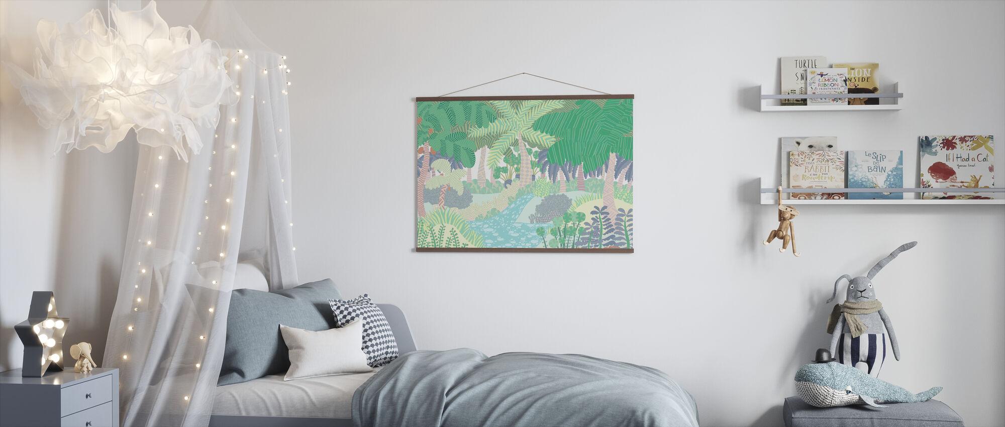 Jungle - Poster - Kinderkamer