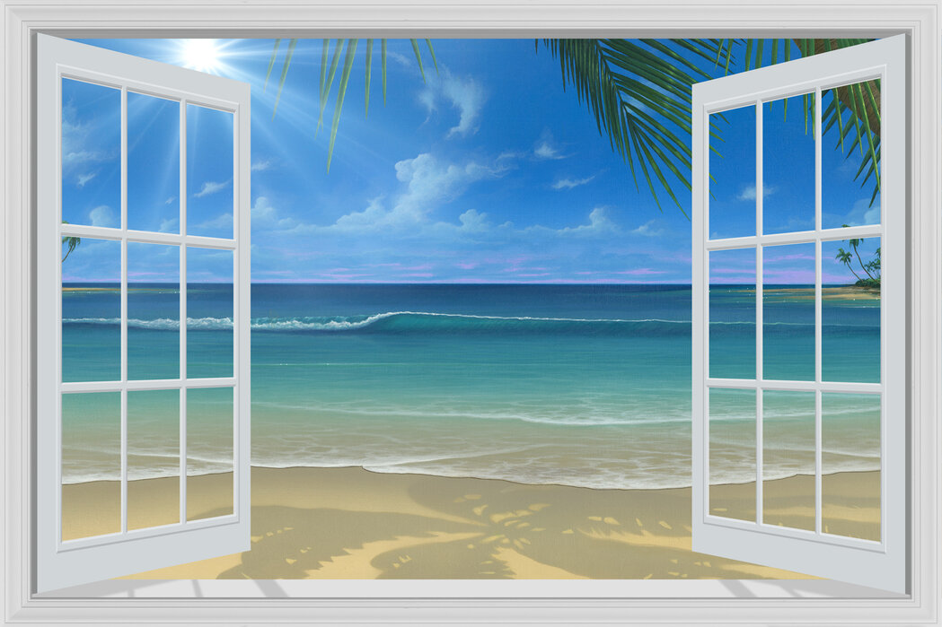 Sunshine Through Window High Quality Wall Murals With Free Uk Delivery Photowall