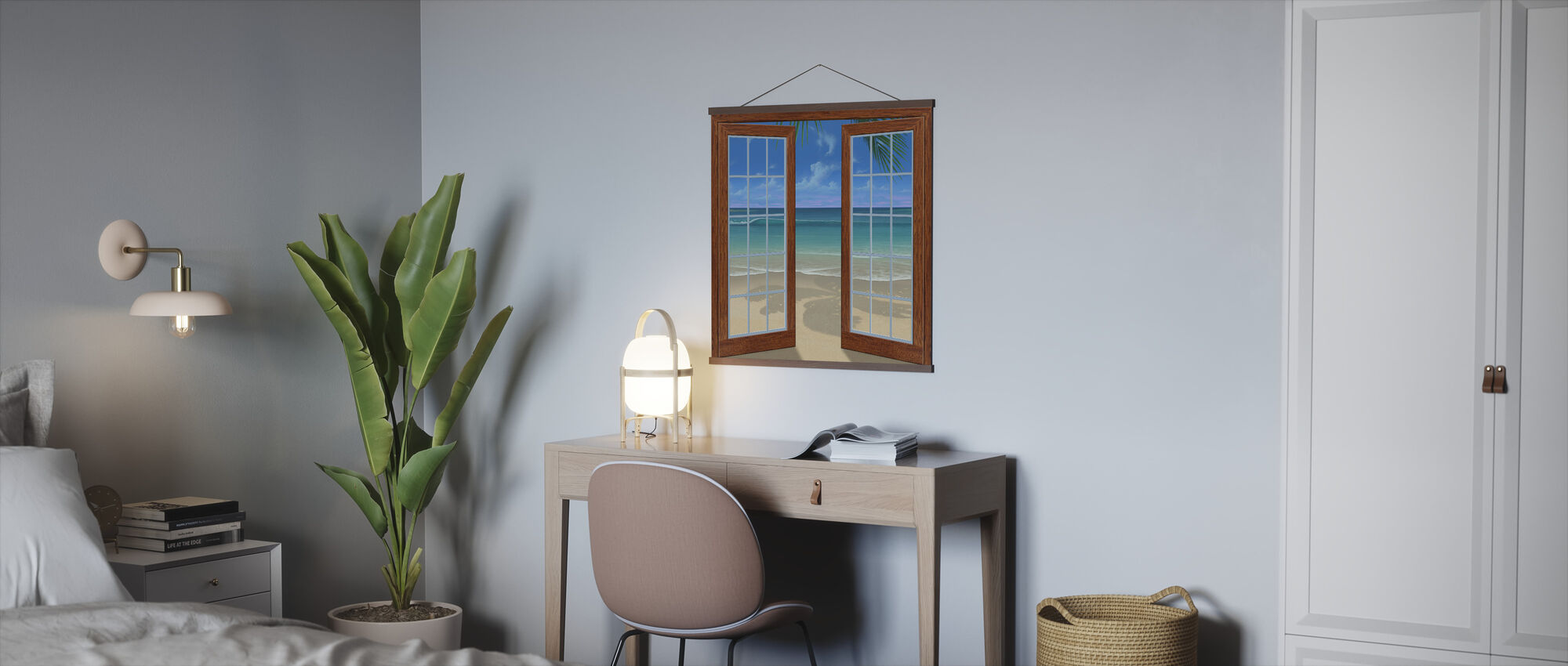 Beach View - Poster - Office