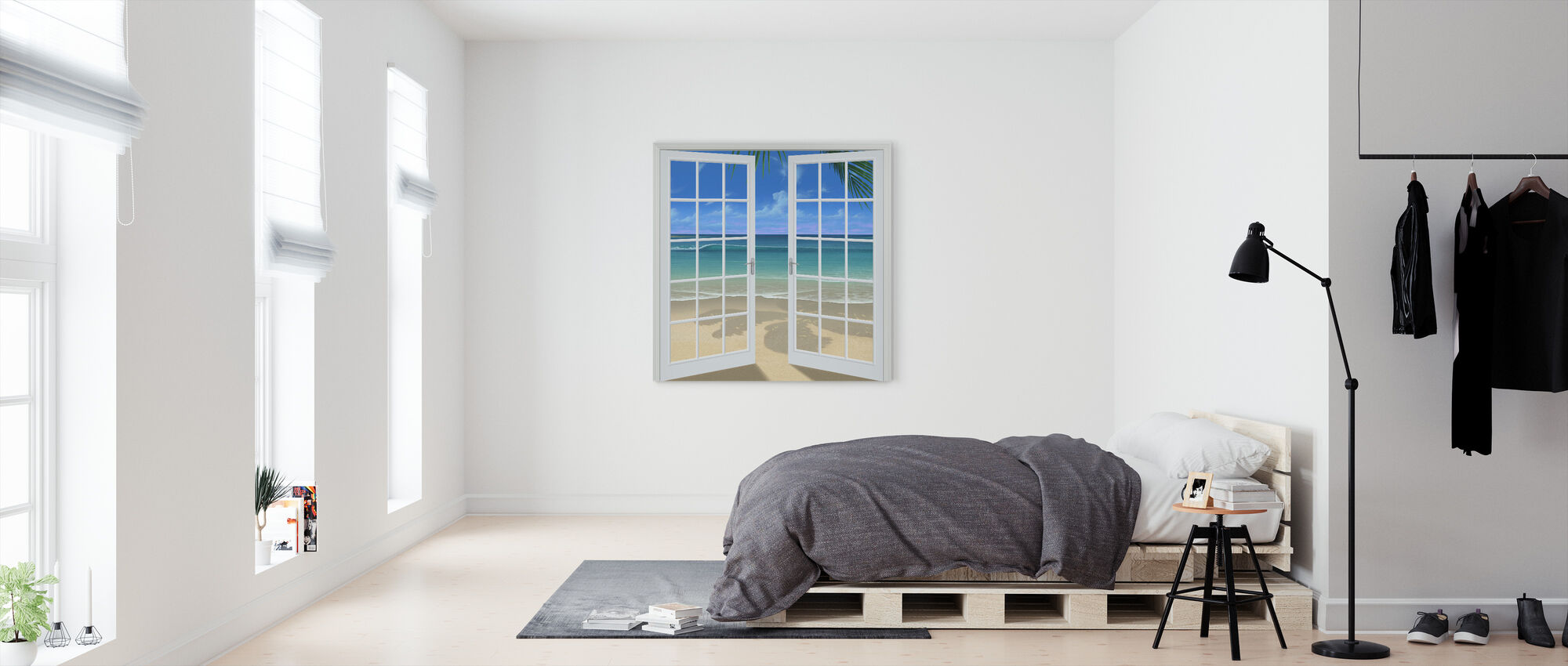 Let the Sun Shine In - Canvas print - Bedroom