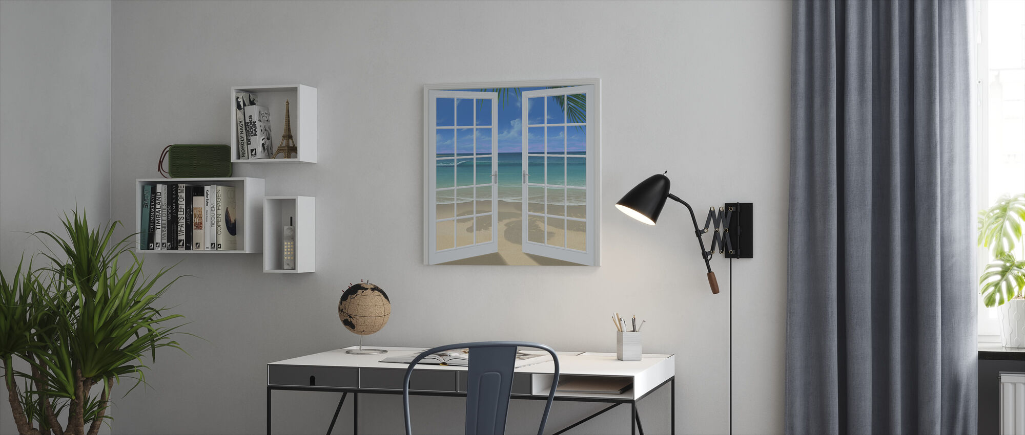 Let the Sun Shine In - Canvas print - Office