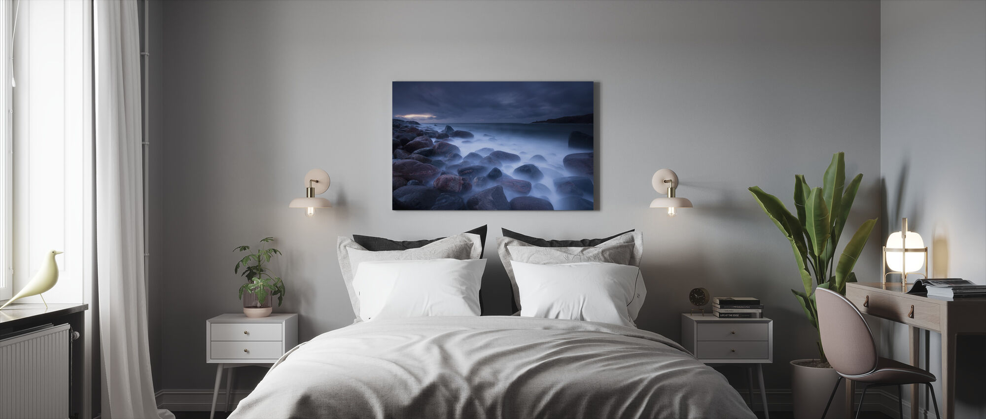 Ghostly - Canvas print - Bedroom