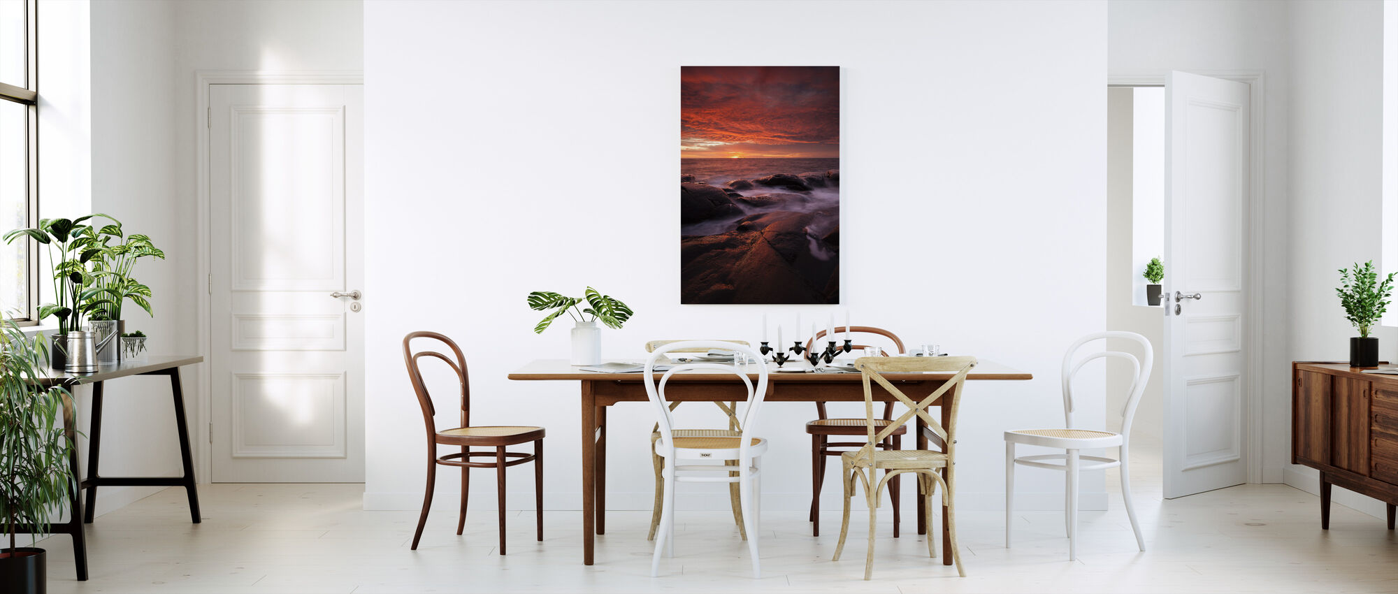 Submerged in the Sun - Canvas print - Kitchen