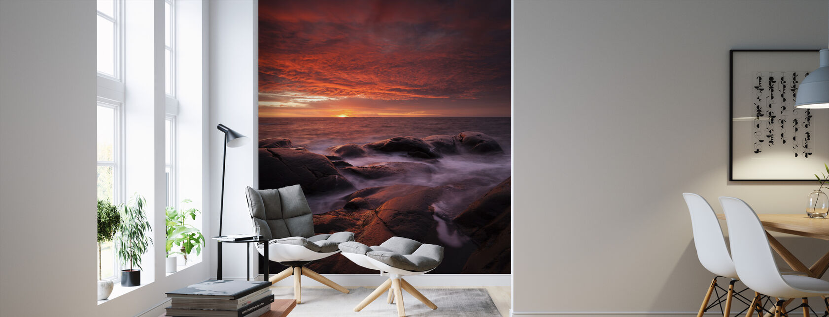 Submerged in the Sun - Wallpaper - Living Room