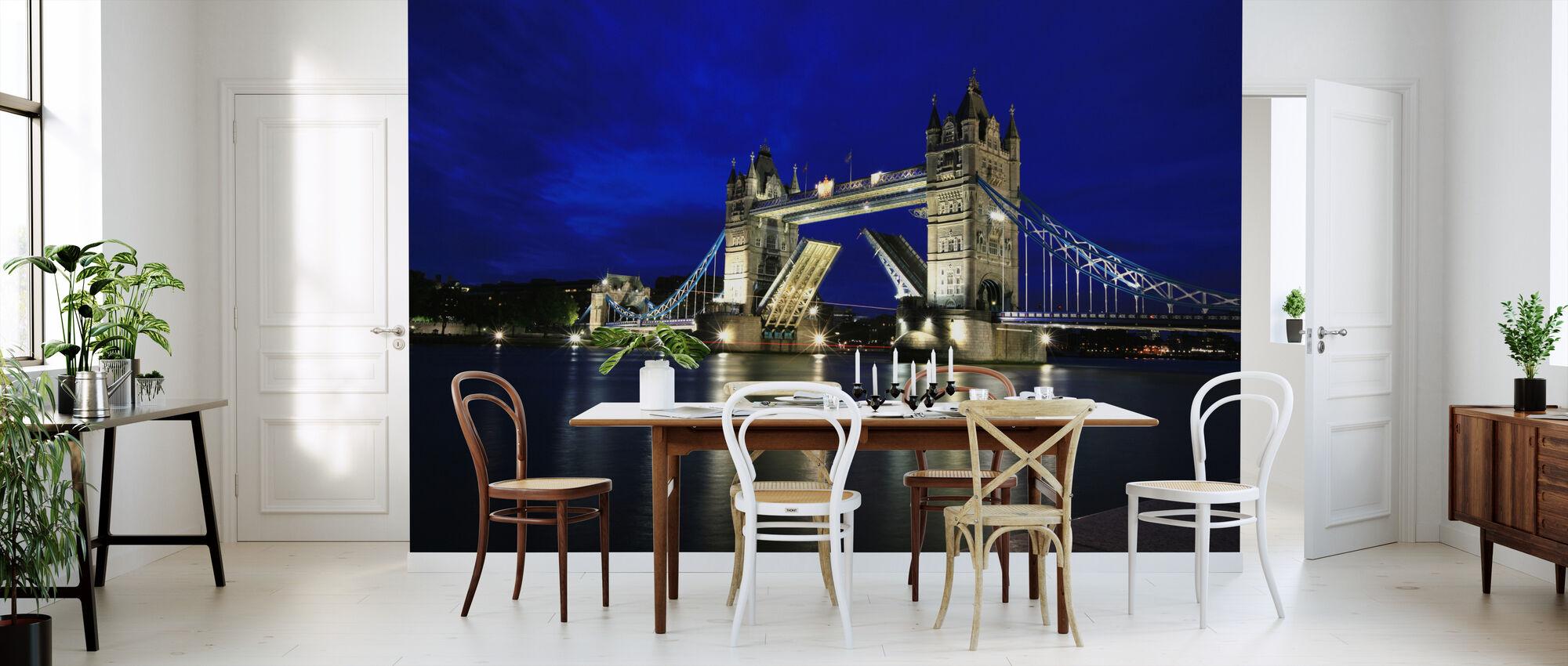 Tower Bridge at Night - Wallpaper - Kitchen