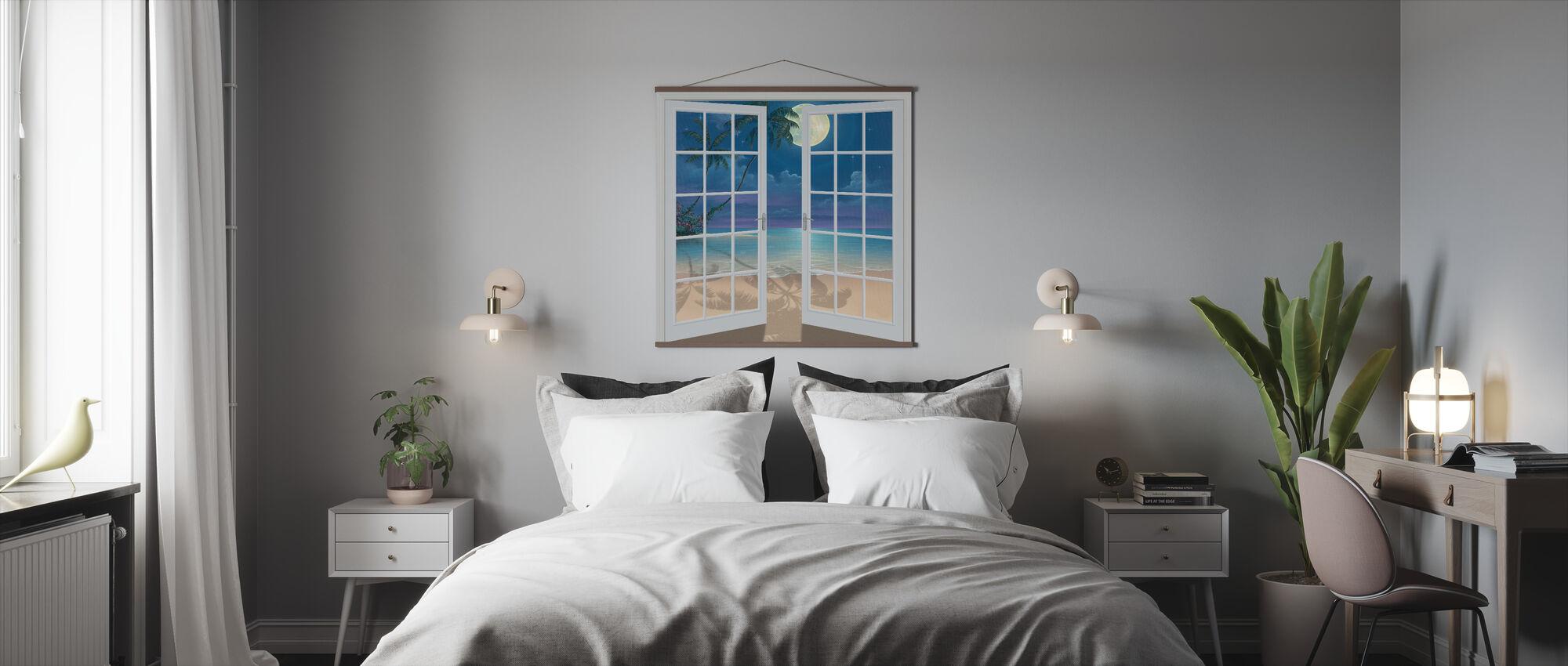 Maan Schaduwen - Poster - Slaapkamer