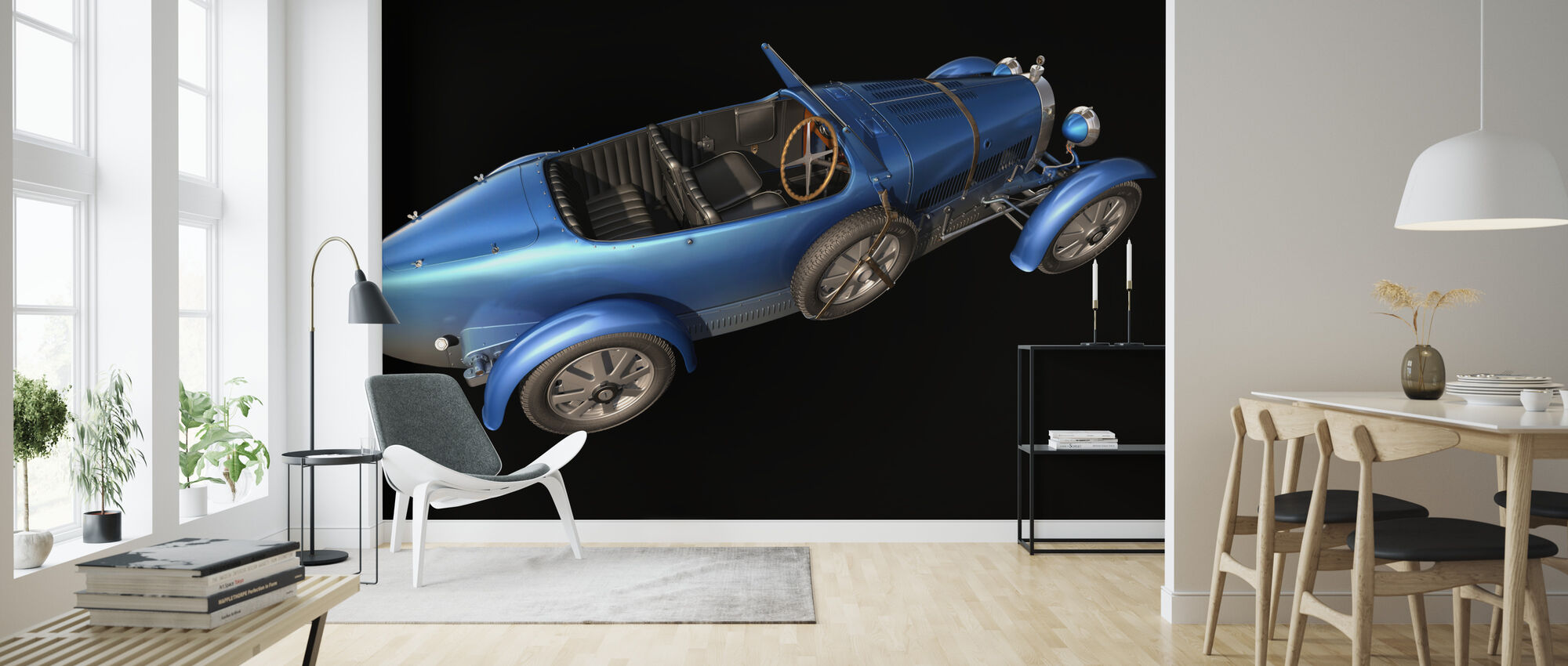 French car from 1927 - Wallpaper - Living Room