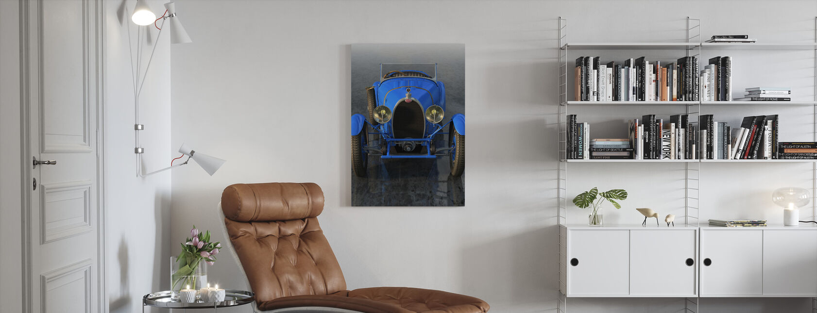 French Car from 1927 Front - Canvas print - Living Room