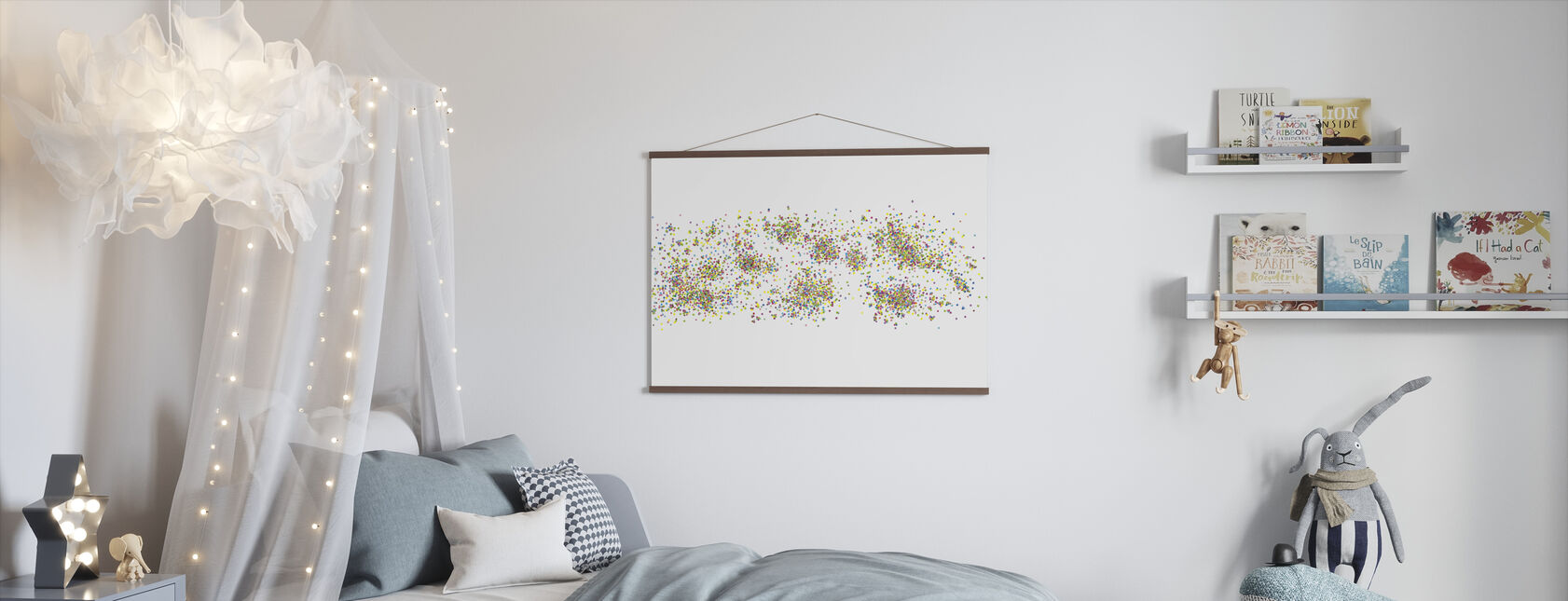 Variegated Dots - Poster - Kids Room