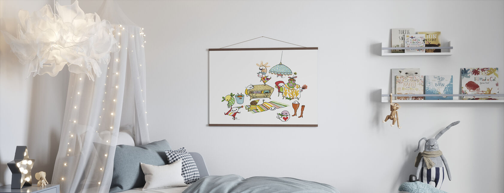 Motley Bus - Poster - Kids Room