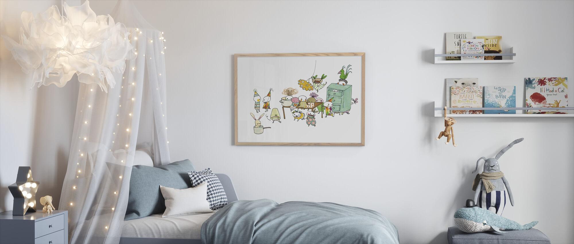 Motley Kalas - Framed print - Kids Room